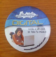 Botón 7.5 cm.  Mixup