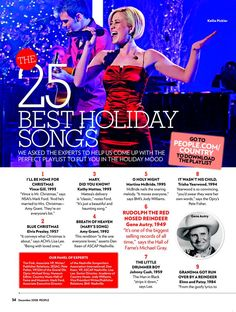 The 25 Best Holiday Songs : People.com
