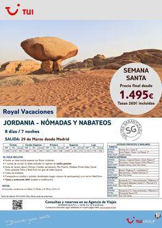 Semana Santa - Jordania:Nómadas y Nabateos. 7 noches. Desde Madrid 29Marzo.Precio final desde 1.495€ ultimo minuto - http://zocotours.com/semana-santa-jordanianomadas-y-nabateos-7-noches-desde-madrid-29marzo-precio-final-desde-1-495e-ultimo-minuto-2/