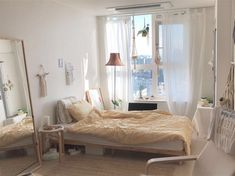Room Inspo Minimalist Boho 38 You are in the right place about classy home decor ideas Here we o Small Bedroom Ideas For Couples, Small Bedroom Designs, Bedroom Minimalist, Stylish Bedroom, Aesthetic Bedroom, My New Room, Small Rooms, Cheap Home Decor, Home Fashion