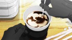 coffee, anime food #animatedgif