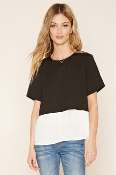 Colorblocked Combo Top | Forever 21 - 2000142830