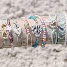 ☆ Blush bracelets