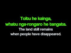 New Zealand - Maori Proverbs Toitu he kainga, whatu nga-rongaro he tangata.The land still remains when people have disappeared. School Resources, Teaching Resources, Teaching Ideas, Prophets In Islam, Maori Words, Teaching Reading, Learning, Polynesian People, Still Remains