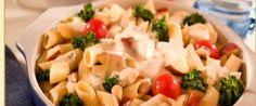 Copie a Salada de penne ao molho de queijo com brócolis e maçã - Receitas Supreme