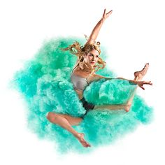 """""""Explosive Color"""" is another striking creative series by American photographer Tim Tadder. """"Using an air canon and colored corn starch we blasted professional dancers with… Dance Photography, Digital Photography, Amazing Photography, Portrait Photography, Photography Ideas, Holi, Surreal Artwork, Wordpress, Color Powder"""