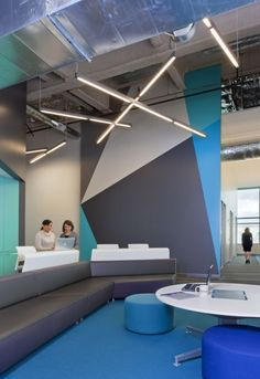 Navis Offices / RMW Architecture and Interiors--- Beautiful accent wall Amazing!