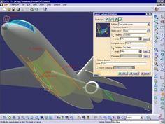 O curso Catia V5 Superfície Avançada aborda o modelamento de peças usando as ferramentas de superfície e suas principais metodologias de criação.