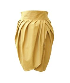 I absolutely adore this skirt...HighWaisted Yellow Skirt Plus Size Skirt Women Skirt by tamarziv, $105.00