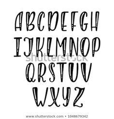 Font Hand Lettering, Doodle Lettering, Creative Lettering, Graffiti Lettering, Lettering Tutorial, Block Lettering, Calligraphy Fonts, Brush Lettering, Script Fonts