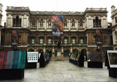 Rubens and His Legacy Exhibition at Royal Arts Academy. Banner printed and installed by Piggotts. Royal Art, Art Academy, Flags, Banners, Things To Come, Mansions, House Styles, Printed, Building