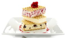#recipe for sponge cakes with ice cream and strawberries