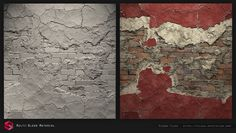 ArtStation - Multi Material Blend - Substance Designer., Pierre FLEAU