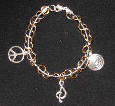 rocker chick bracelet (new) SOLD  similar bracelet available now for sale   https://www.facebook.com/HmsPrettyLittleJewels