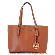 Cheap Michael Kors Chestnut Leather Bag On Sale