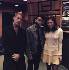 PHOTO: Diplo, The Weeknd And Lorde Join Forces In The Studio