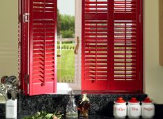 Made in the U.S.A. | Solid Wood Shutters