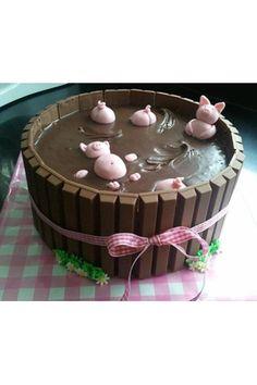 Kuchen für Omas 70.Geburtstag: Echter Schweinkram...