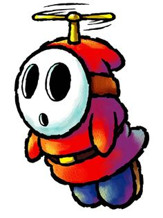 Fly Guy - Characters Art - Yoshis Island DS.jpg