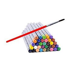 Amazon.com : Ohuhu 36-color Watercolor Pencils / Water Soluble Colored Pencil Set : Office Products