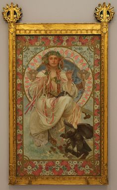 Alfons Mucha - Portrait of Josephine Crane Bradley as Slavia.jpg