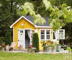 Craving a space to call your own? Create a one-of-a-kind she shed designed with both function and fashion in mind.