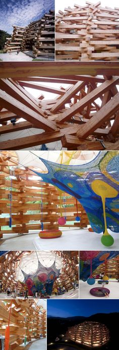 Tezuka Architects-Timber Pavilion | arisumisa
