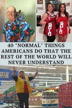 Scroll down to see the list of the weirdest things that Americans are doing that the rest of the world will never understand. You will be shocked to find out how the rest of the world really thinks about the good 'ol US of A! Terrible Jokes, Hilarious Jokes, Some Funny Jokes, Crazy Funny Memes, Really Funny Memes, Funny Facts, Haha Funny, Punny Puns, Dark Humor Jokes