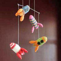 Use up extra yarn and give a nice touch to a child's bedroom!