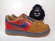 e134c0d57c30 Mens Nike Air Force 1 Supreme Vince Carter Khaki shoes size 11.5 US  315181-241