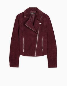 Peccary biker jacket - JACKETS - WOMAN | Stradivarius Croatia