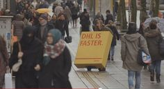 DHL Pranks Competitors To Advertise For Them - DesignTAXI.com