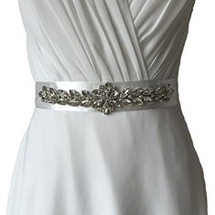 Azaleas Women's Crystal Vintage Wedding Dress Sash Belts White One Size azaleas http://www.amazon.com/dp/B00UFN5PR0/ref=cm_sw_r_pi_dp_SdgXvb1WT5PRZ