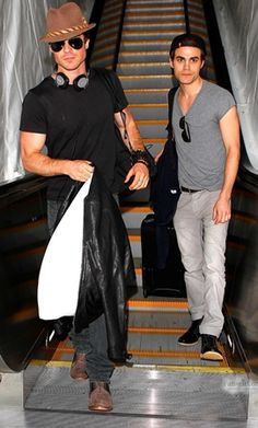 Ian Somerhalder & Paul Wesley  em Los Angeles