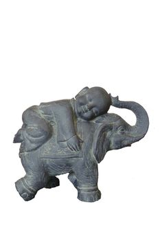 Details About Feng Shui Pair Of 5 Elegant Elephant Statue Lucky