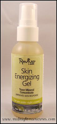 Midnight Manicures: Reviva Labs - Skin Energizing Gel Review
