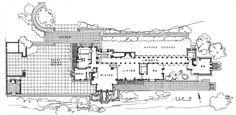 Ennis Brown House plan