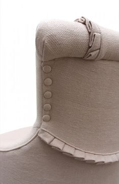 upholstery detailing.....uniquely artistic....exquisite.... .