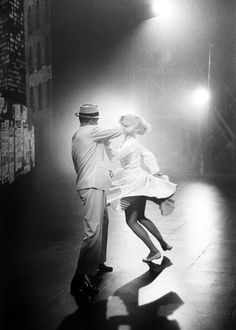 Fred Astaire & Cyd Charisse. I read she wore flats a lot because he was short. But boy could they DANCE