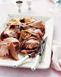 Easter Main Dishes // Marmalade-Glazed Ham Recipe