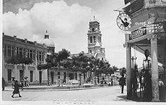 Iglesia del Calvario Ahora esquina de la 18 calle y 7ª Ave. Esquina donde ahora esta Paiz 18c.