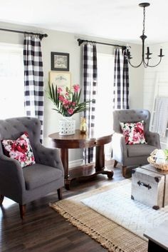 Home - Art 65 Cozy Farmhouse Living Room Makeover Decor Ideas Always aspired to figure ou. Modern Farmhouse Living Room Decor, Diy Home Decor Rustic, Farmhouse Style, Rustic Farmhouse, Country Living, Farmhouse Design, Modern Living, Farmhouse Ideas, Farmhouse Interior