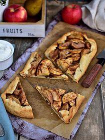 Pradobroty: Jablečná galetka / jablečný rustikální koláč
