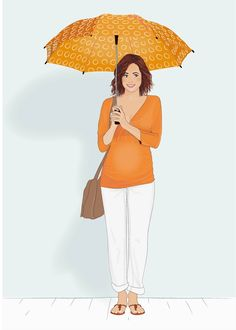 Fashion Illustration .10 from Vertbaudet's Maternity Collection