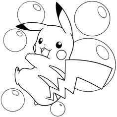 Coloring Pages Pikachu and Friends . Coloring Pages Pikachu and Friends . Pikachu Coloring Pages Playing Bubbles Pokemon Coloring Sheets, Pikachu Coloring Page, Emoji Coloring Pages, Online Coloring Pages, Cute Coloring Pages, Free Printable Coloring Pages, Coloring Pages For Kids, Free Coloring, Coloring Books