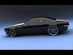 Camaro-Concept-SS-2+2-1967-by-Bo-Zolland-Black-Sid