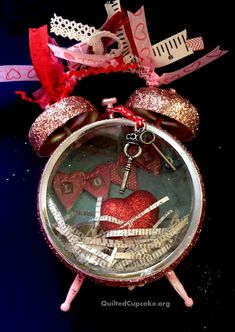 Tim Holtz Altered Clock Project