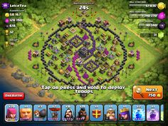 clash of clans th8 resource base