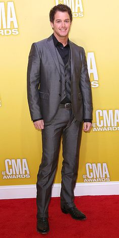 Easton Corbin. I see he's wearing the slim-me waistcoat.