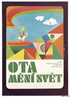 £0.99 EBAY AUCTION /  / Original Vintage Movie Poster OTTOKAR THE WORLD REFORMER 1970s Cinema Art / #posters #kids